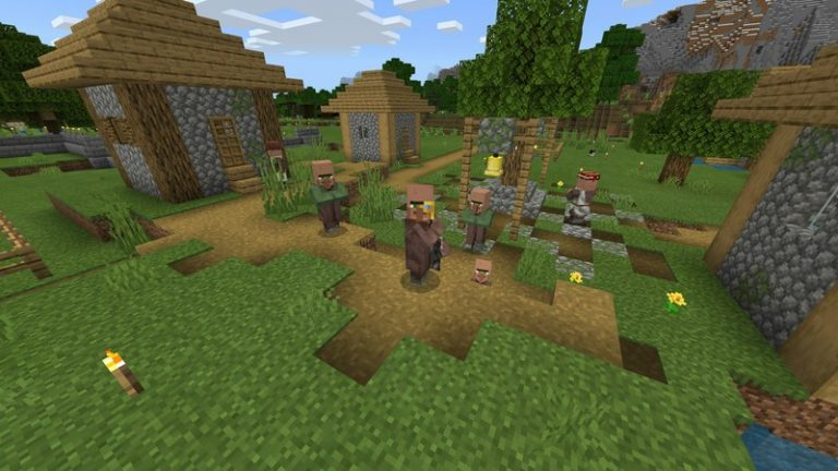 How to grow baby villagers